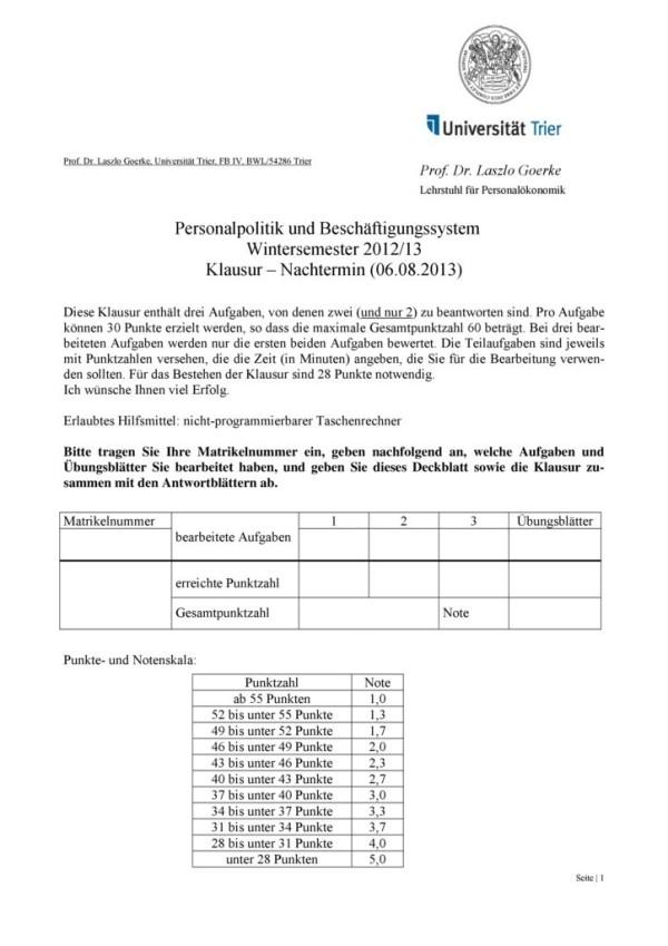 thumbnail of Klausur-Personalpolitik