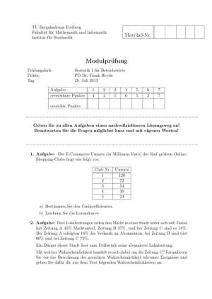 thumbnail of Klausur_Statistik_Betriebswirte_SS12