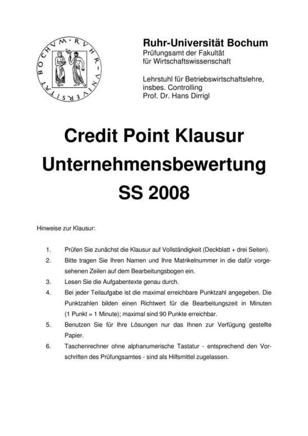 thumbnail of Klausur_Unternehmensbewertung2